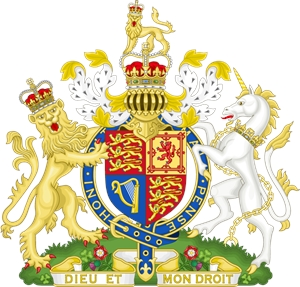 300x287 Coat Of Arms Of The United Kingdom Logo Vector (.eps) Free Download