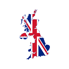 280x280 Flag Map Of United Kingdom Logo Vector Free Download