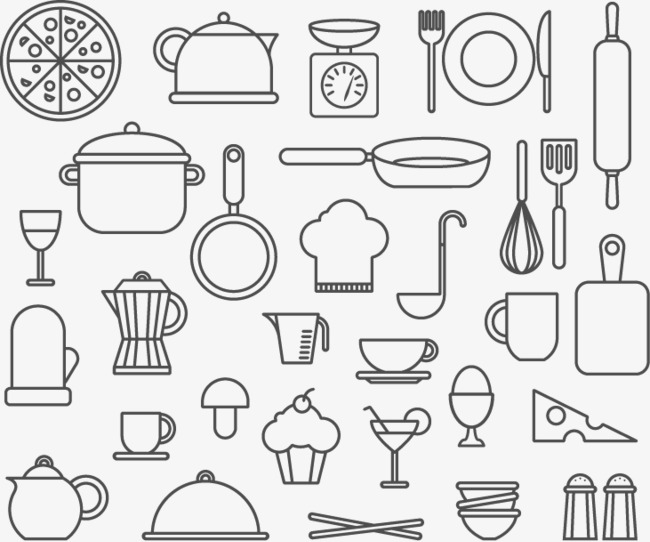 The Best Free Kitchen Vector Images Download From 435 Free