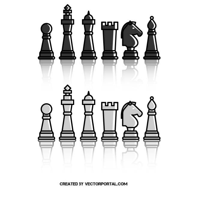 660x660 Chess Pieces Free Vectors Ui Download