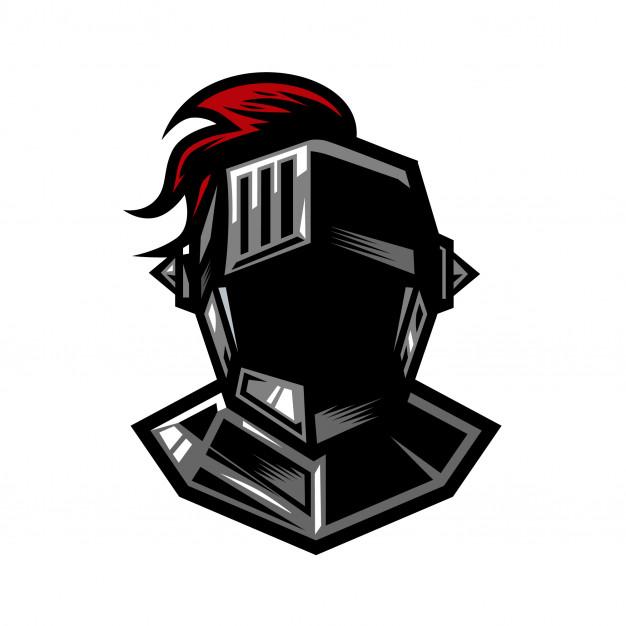 626x626 Knight Helmet Vector Premium Download