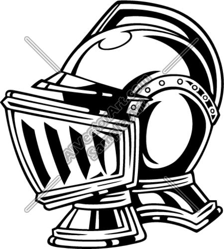 450x500 Knight Helmet Clipart And Vectorart Sports Mascots