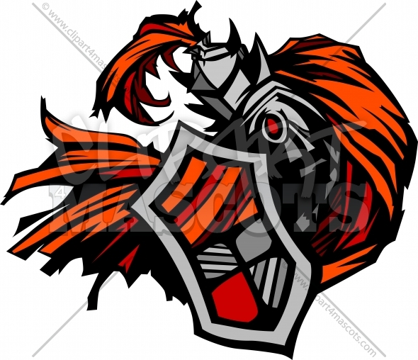 590x508 Knight Clipart Logo Graphic Vector Image