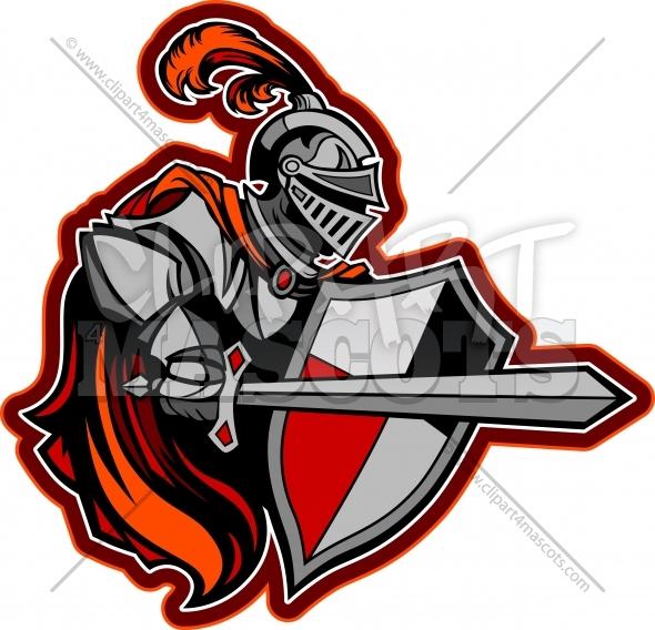 590x568 Knight Logo Graphic Vector Cartoon