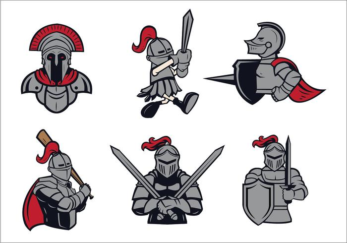 700x490 Knights Logo Vector Set