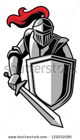 270x470 Knights Logo Vector Item 1 Silhouette Cameo