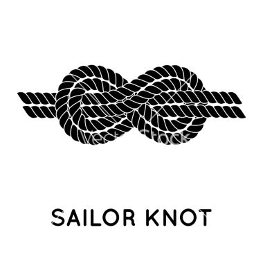 380x400 Sailor Rope Knot Vector Coolingvest Rope Knots