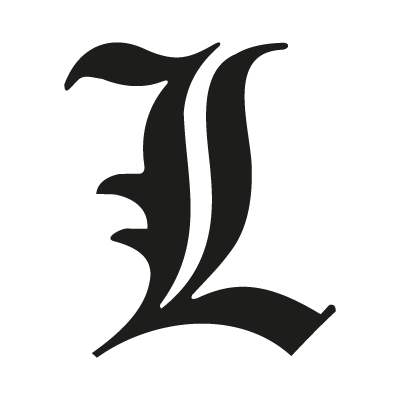 400x400 L Letter From Death Note Vector Logo