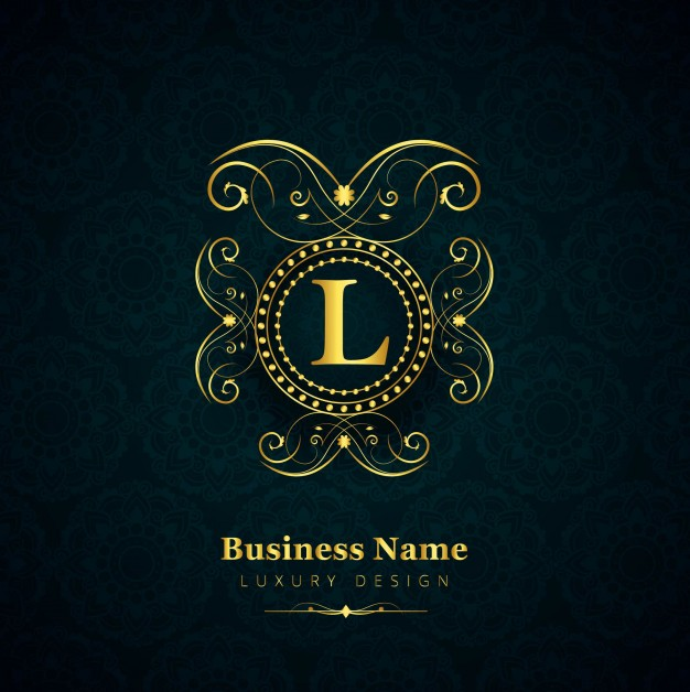 626x628 Luxury Letter L Logo Vector Free Download