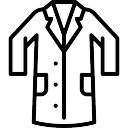 128x128 Lab Coat Icons Free Download