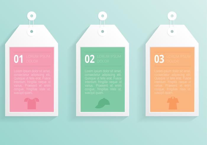 700x490 Modern Label Tag Vector Template