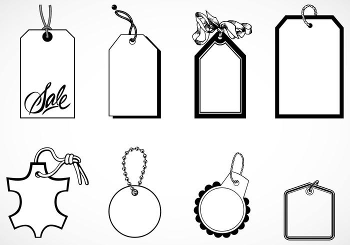 700x490 Vintage Tag Vector And Label Vector Pack