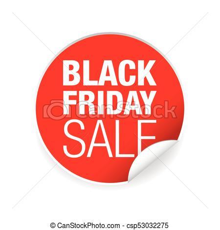 450x470 Black Friday Sale Label Tag Vector.
