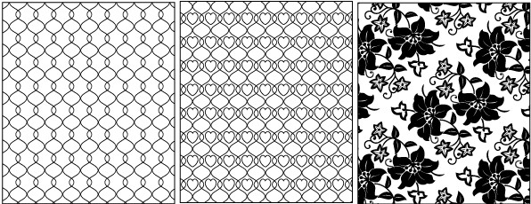 596x230 Lace And Mesh Pattern Vector Pdf Format Free Vector Download