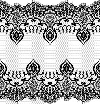 354x368 Lace Border Free Vector Download (6,626 Free Vector) For