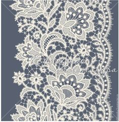 236x241 Floral Black Lace Pattern Vector Image Vector Artwork Of