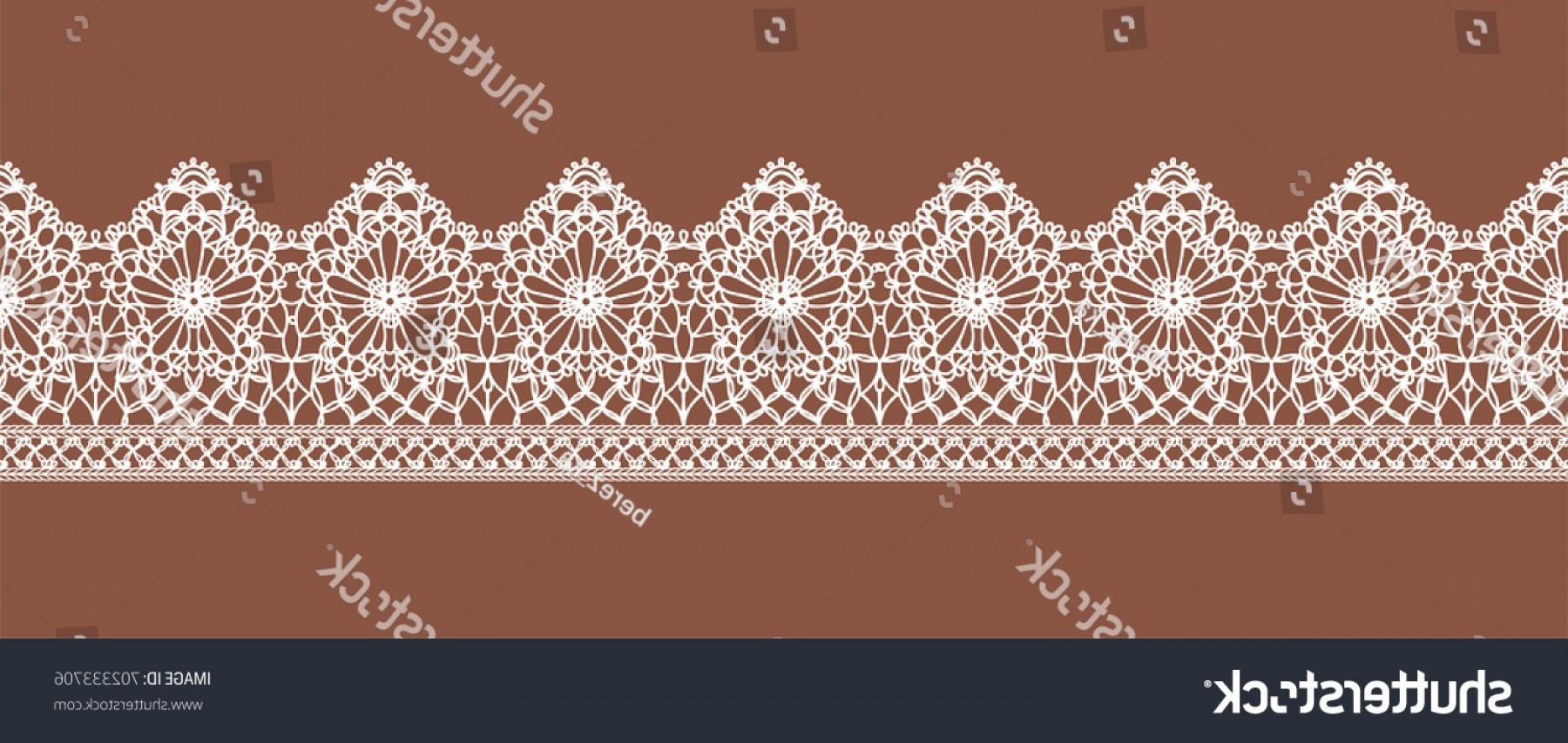 1800x853 Lace Ribbon Design Scrapbook Vector Shopatcloth