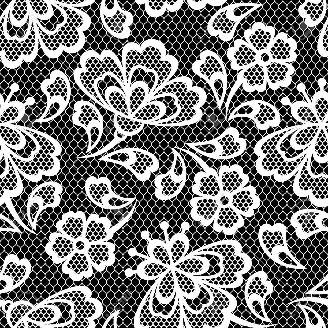 Lace Texture Vector