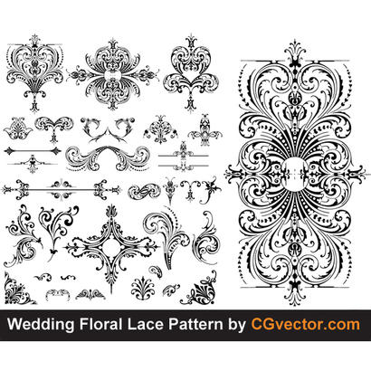 410x410 Free Download Of Lace Vector Graphics And Illustrations