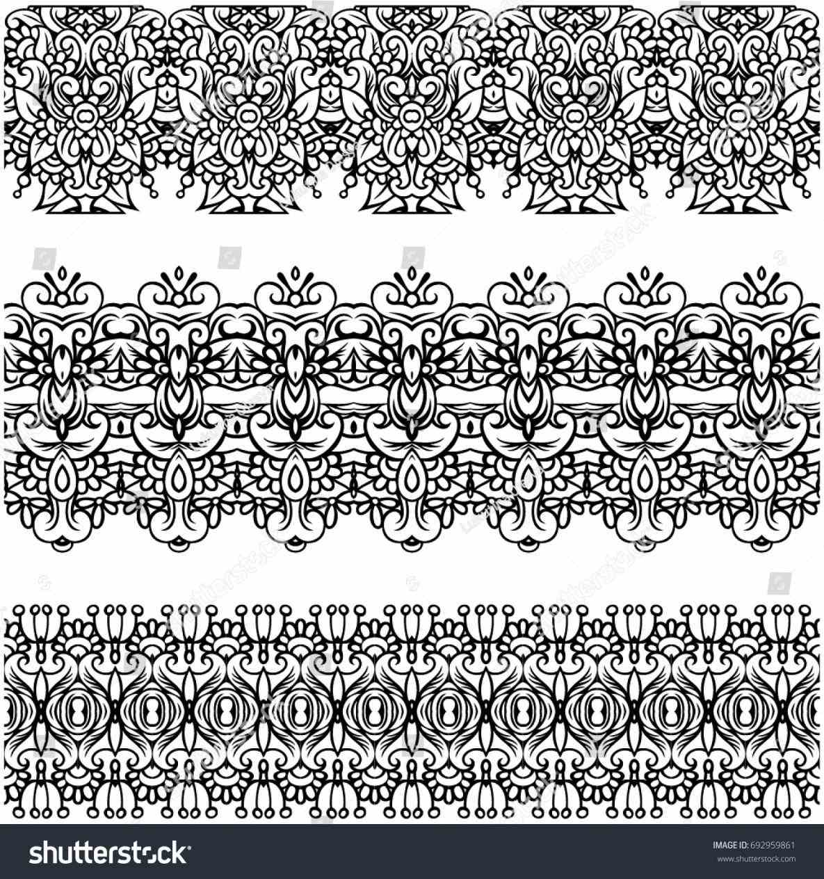 1185x1264 Lace Vector Free Illustrator Trims Elements Can Be Stock