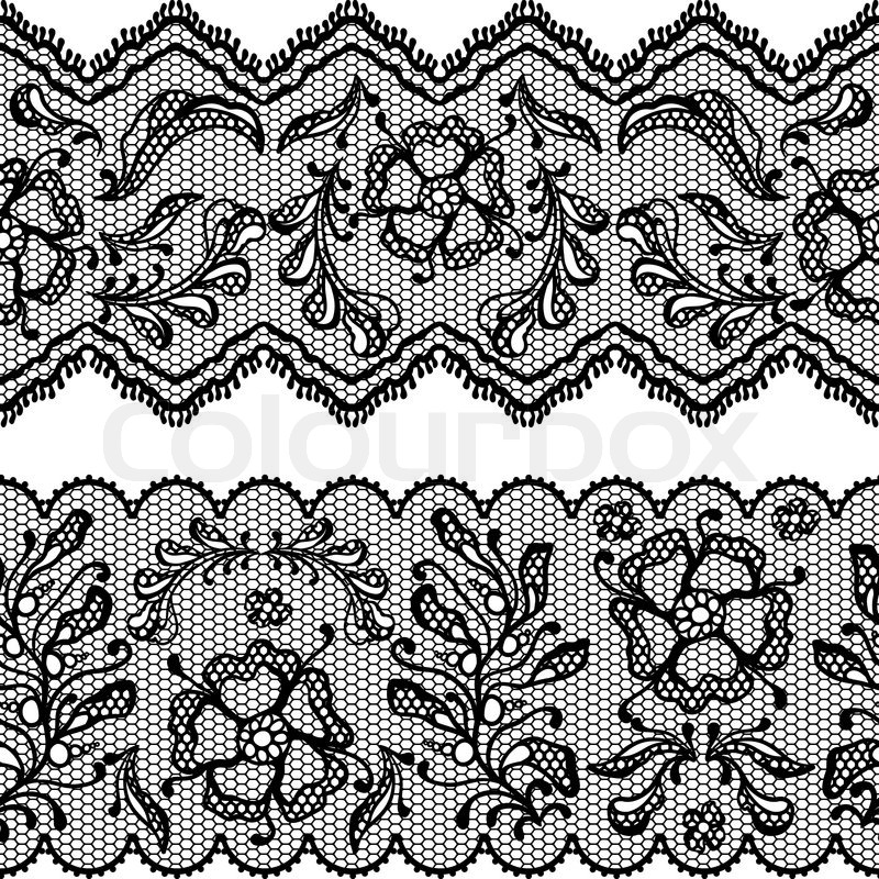 800x800 Vintage Lace Background, Ornamental Flowers Vector Texture Stock