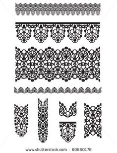 236x308 Lace Vector