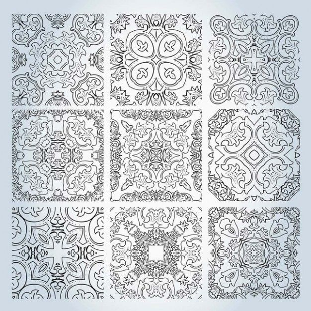 626x626 Lace Vector Files To Embroider (Free To Download (.ai, .eps