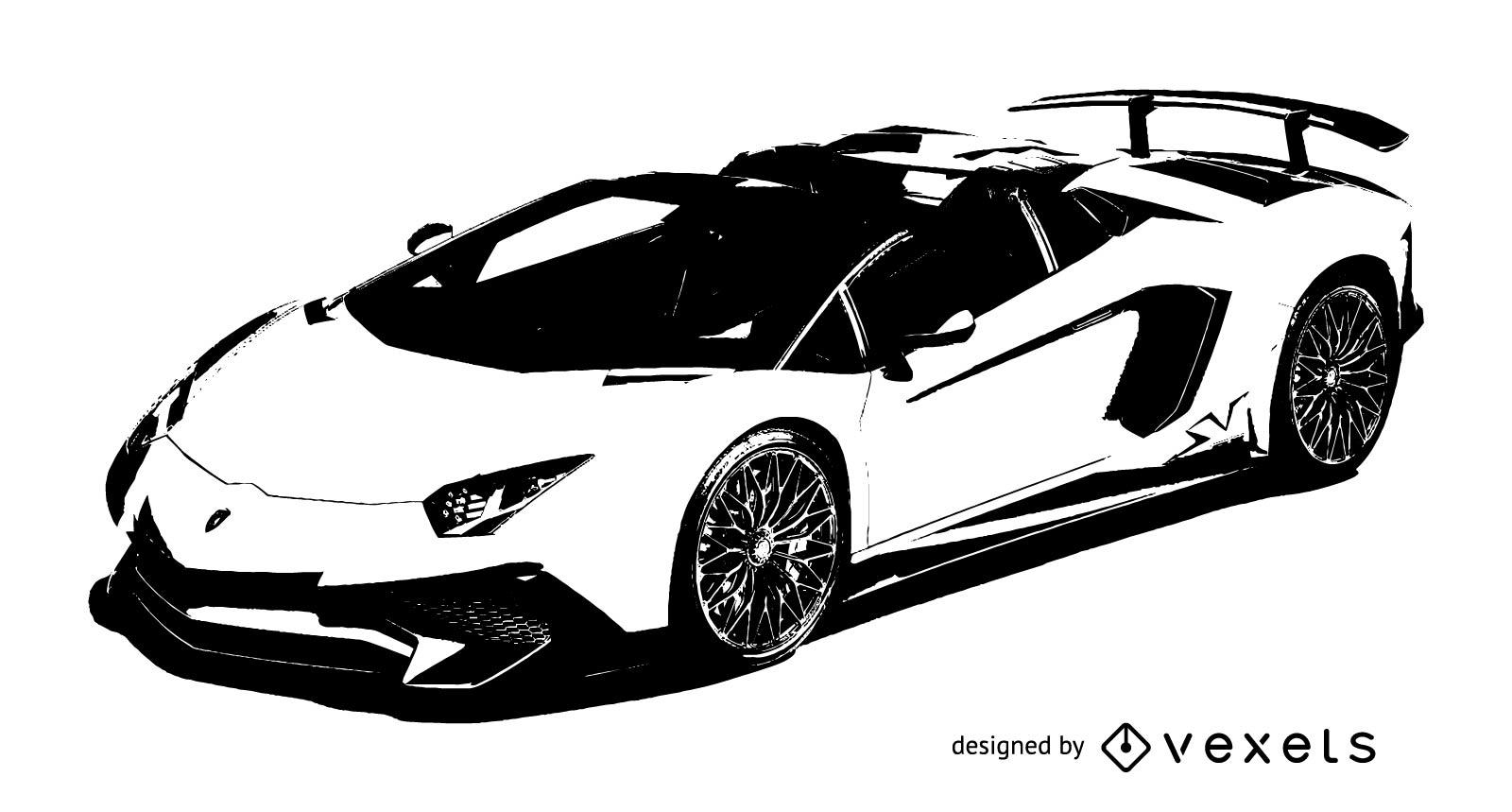 Lamborghini Vector At Getdrawings Com Free For Personal Use