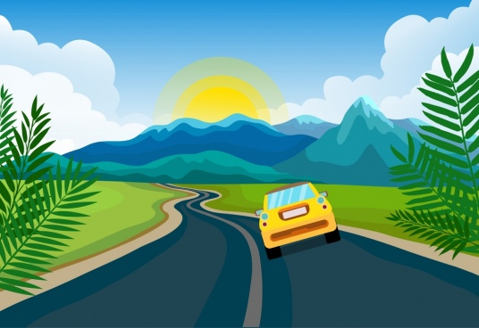 536x368 Vector Landscape For Free Download About (627) Vector Landscape