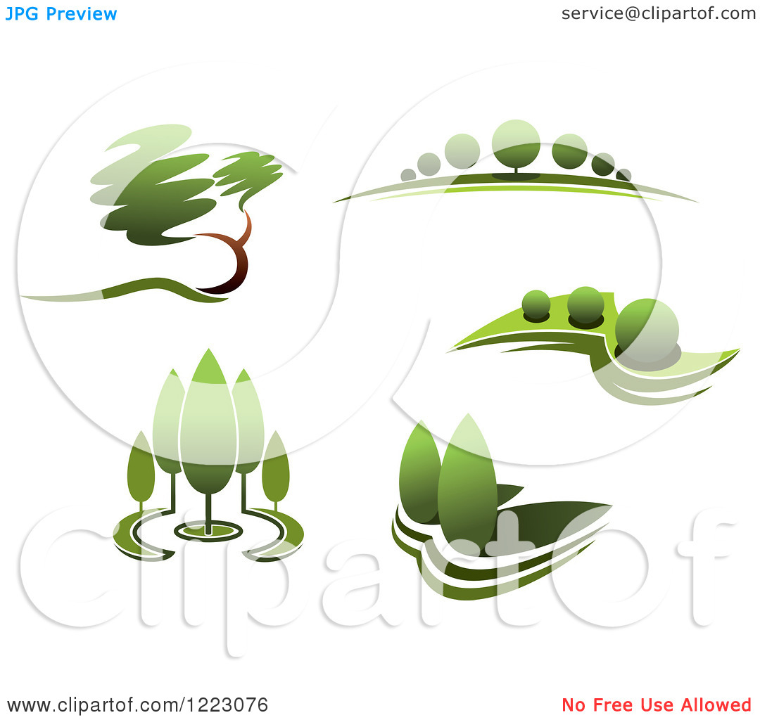 1080x1024 14 Landscaping Logo Free Vector Images