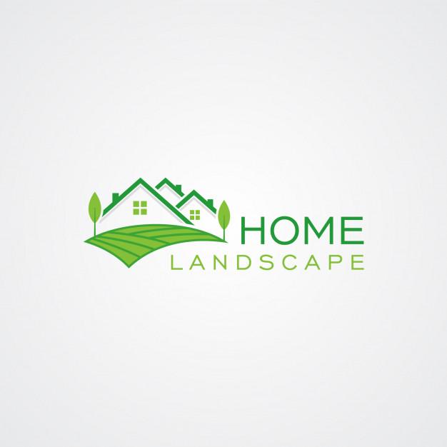 626x626 Home Landscape Logo Template Vector Premium Download