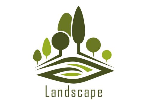 500x354 Landscape Logos Design Vector 02 Free Download