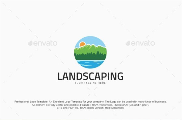 600x398 Landscaping Logos