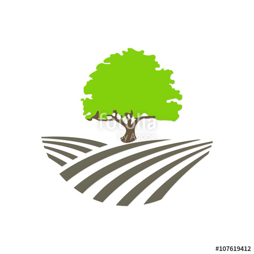 500x500 Tree Nature Landscape Logo Stock Image And Royalty Free Vector