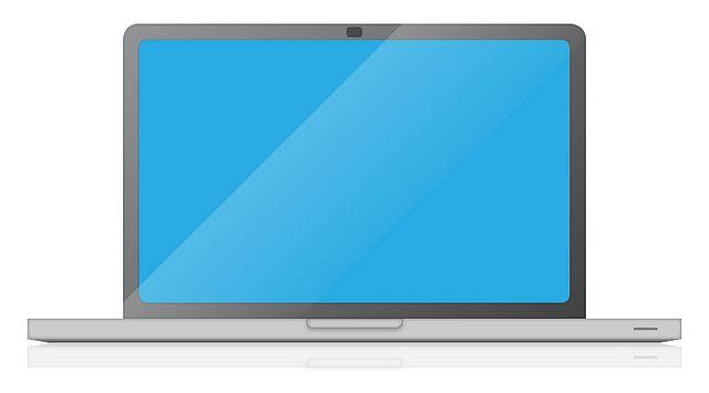 640x355 Laptop Vector Laptop Computer