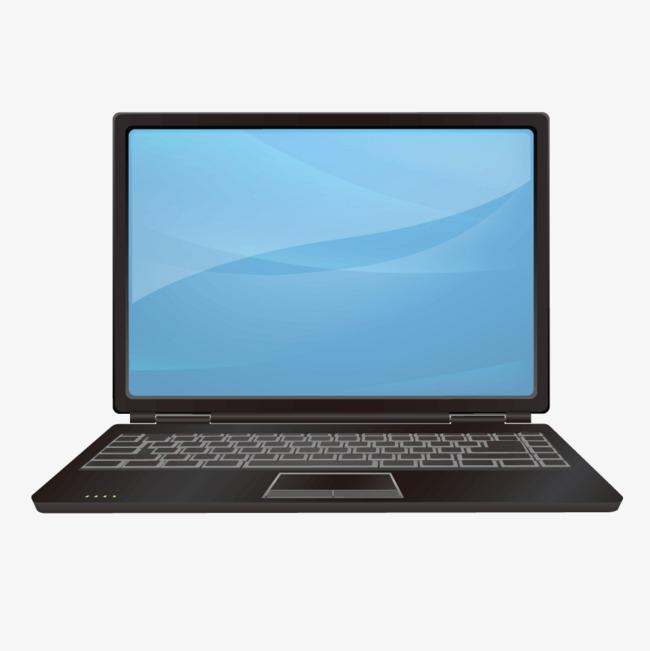 650x651 Black Laptop, Black Vector, Laptop Vector, Black Png And Vector