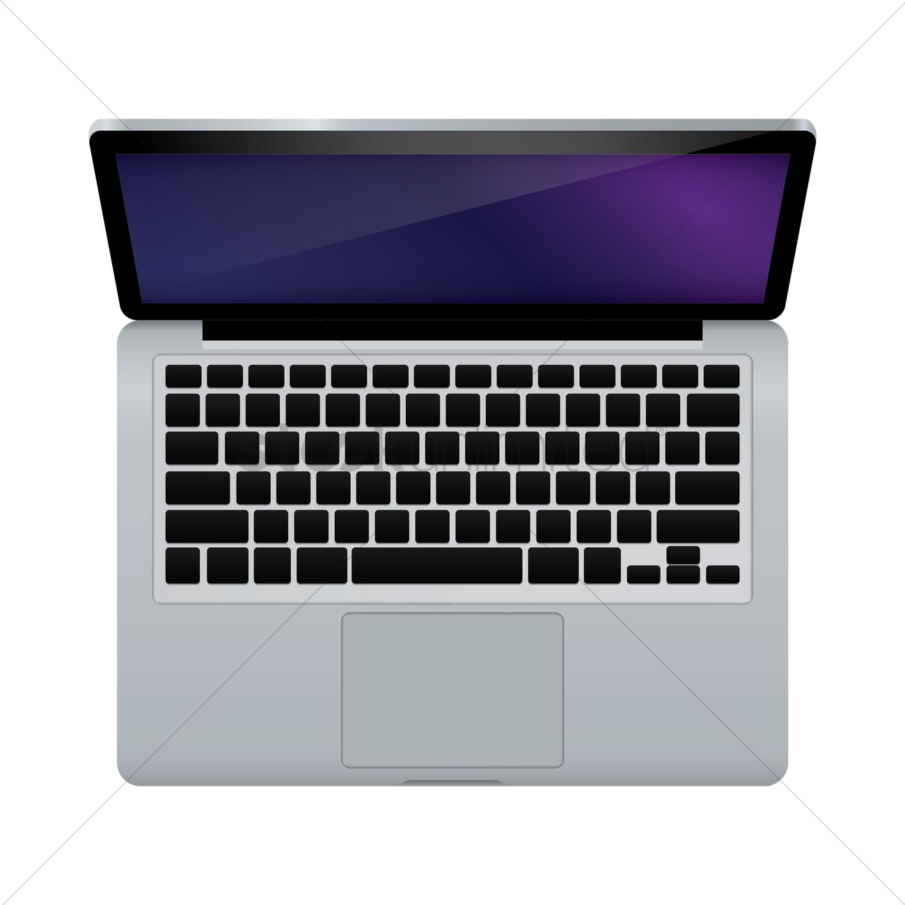 1300x1300 Free Laptop Vector Image
