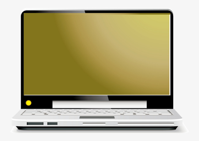 650x461 Vector Laptop, Laptop Vector, Vector, Brown Png And Vector For