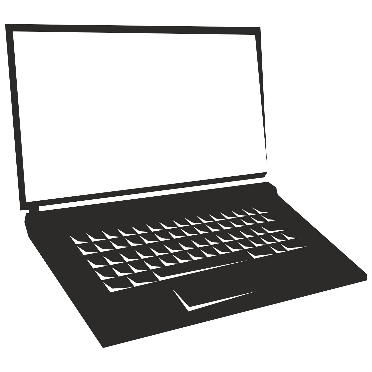 1500x1500 Vector For Free Use Notebook Laptop Vector