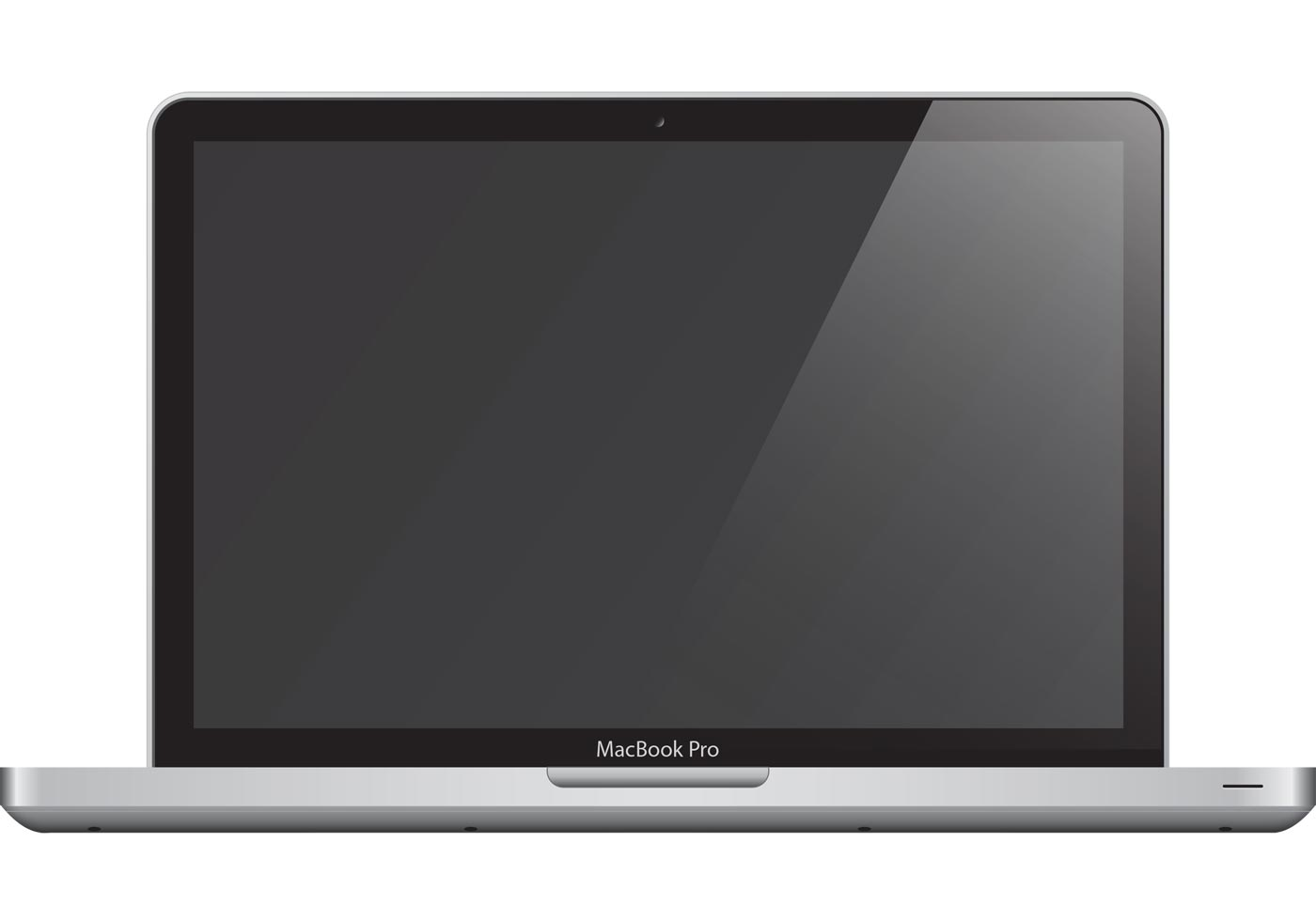 1400x980 Macbook Pro Vector