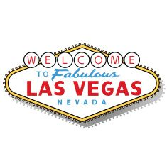 235x234 Las Vegas Sign Vector Art Illustration Aufkleber
