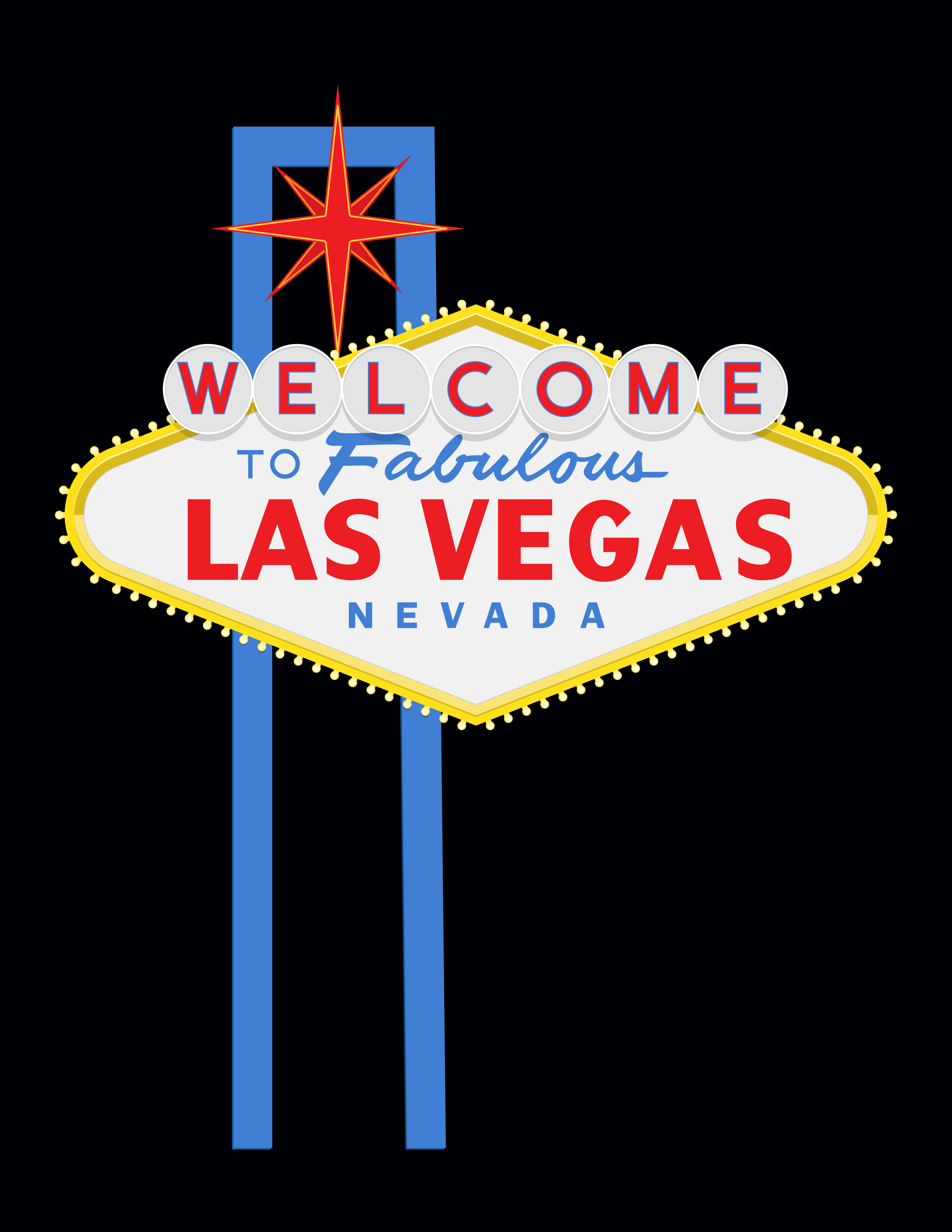 5100x6600 Vector Exercise Las Vegas Sign Digital Portfolio