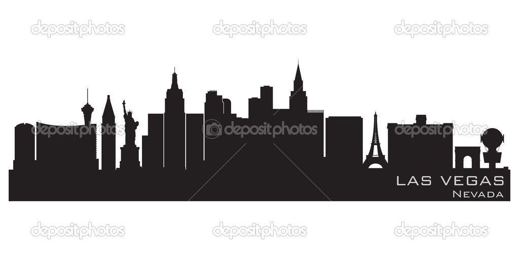1024x512 Las Vegas Skyline Vector Las Vegas Skyline Clip Art Cricut Cut