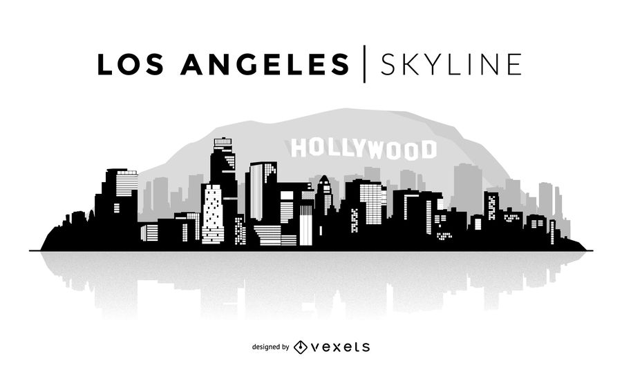 900x529 Las Vegas Skyline Vector Free (8 Images)