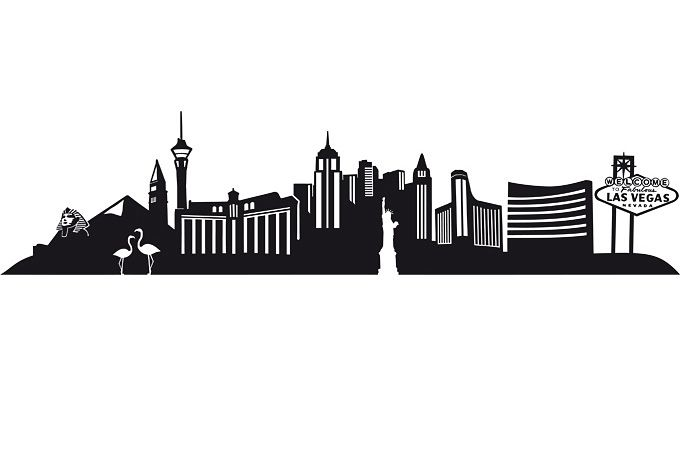 680x472 Las Vegas Skyline Vector Png Transparent Las Vegas Skyline Vector