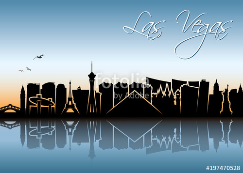 500x357 Las Vegas Skyline