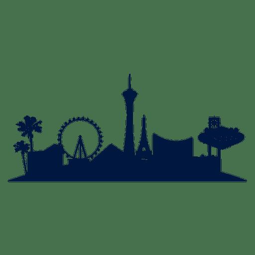 512x512 Las Vegas Skyline Cityscape