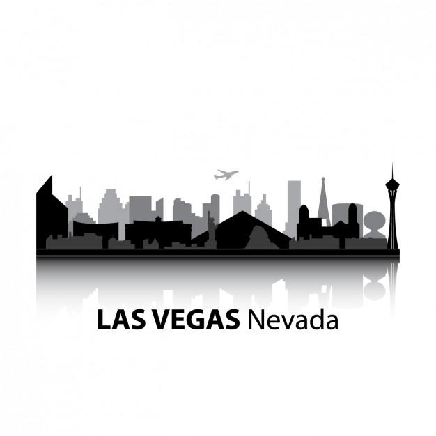 626x626 Las Vegas Skyline Design Vector Free Download