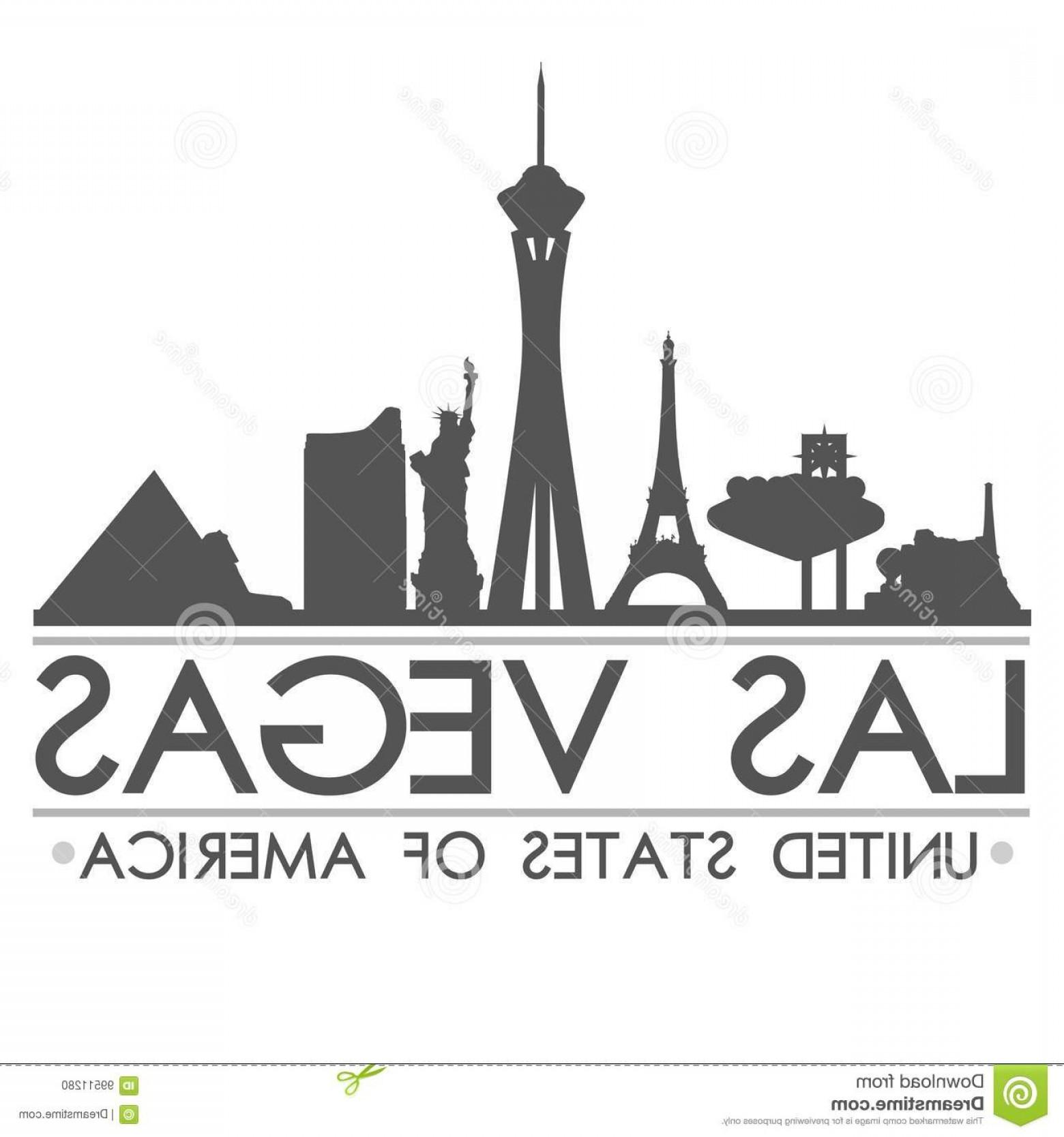 1560x1668 Stock Illustration Las Vegas Skyline Silhouette Design City Vector