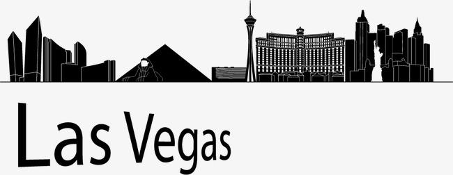 650x252 Las Vegas Silhouette, Las Vegas, City Silhouette, City U200bu200bbuilding